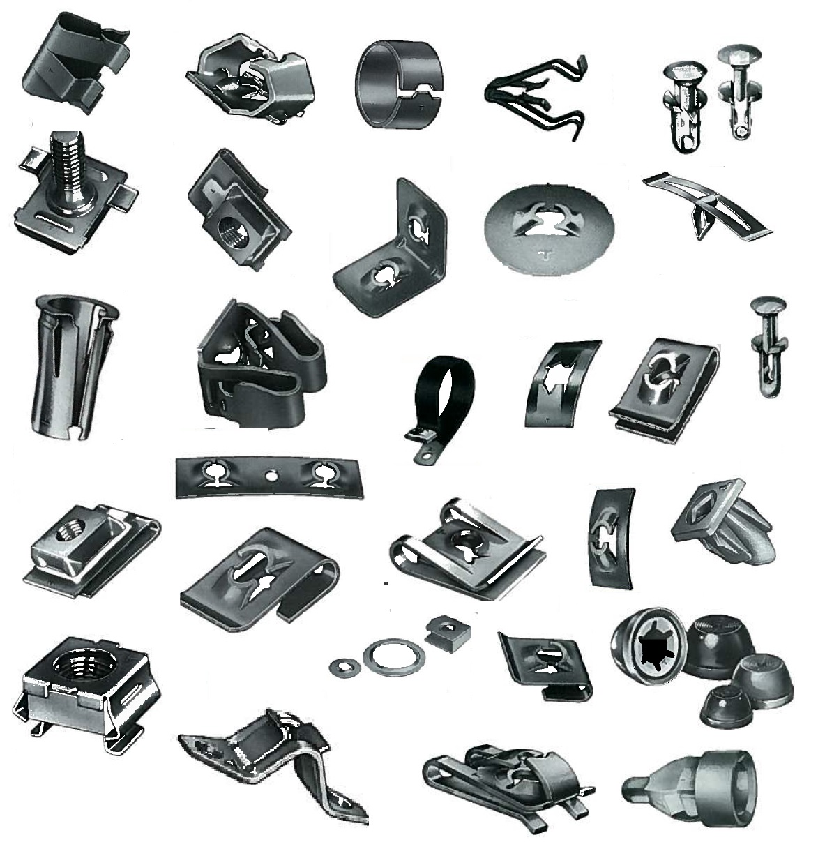 The fastener - what it is Types of fasteners. Materials for production 98
