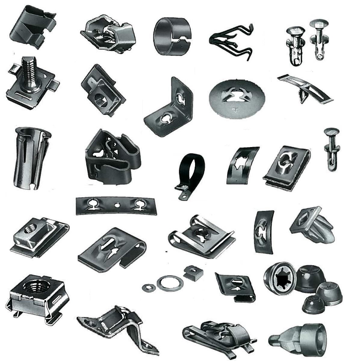 wiring fasteners clip clip paper
